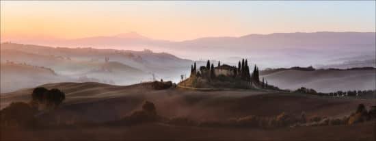 Landschaftsaufnahme der Toscana