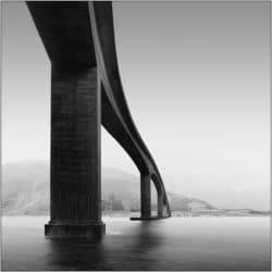 Landschaftsaufnahme Brücke