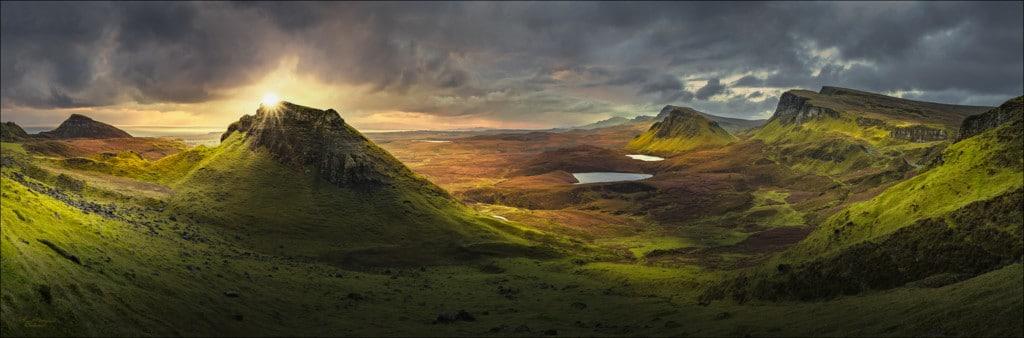 Landschaftsaufnahme in Schottland
