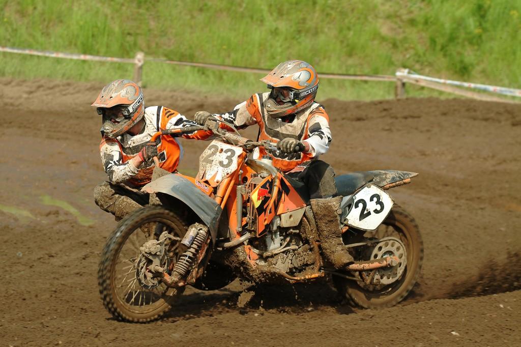 42. DMV-Motocross Mölln Grambeker Heidering Seitenwagen Pokal-Lauf 2006