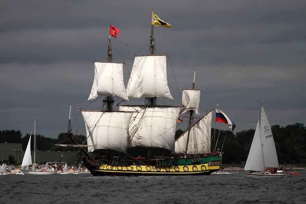 Schiff-vordergrund