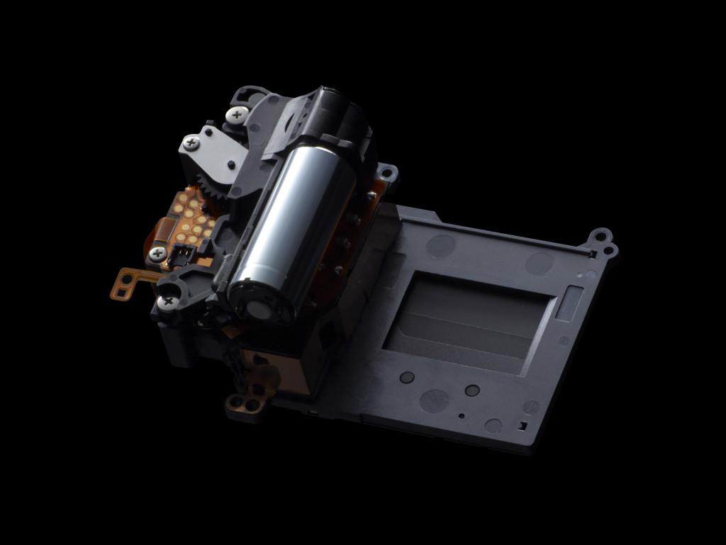 Die Verschlusseinheit der EOS 70D (Foto: Canon)