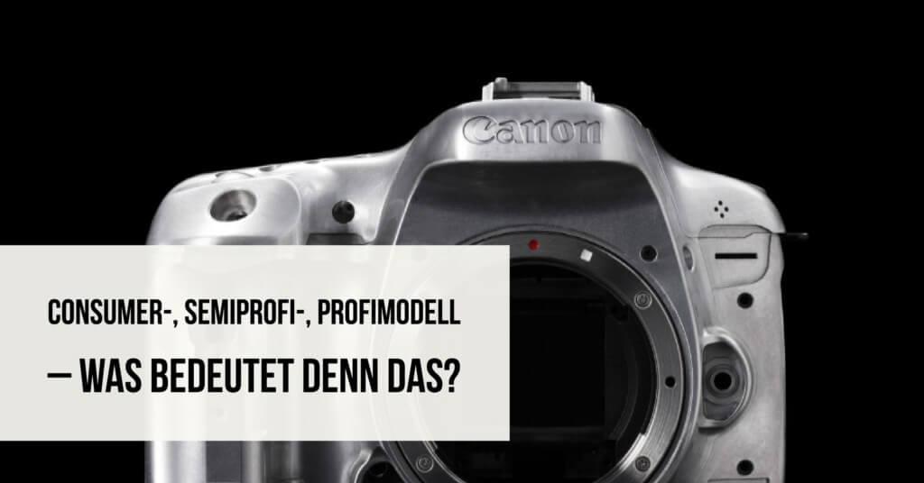 Consumer, Semiprofi und Profimodell