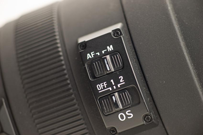 Schalter AF oder MF