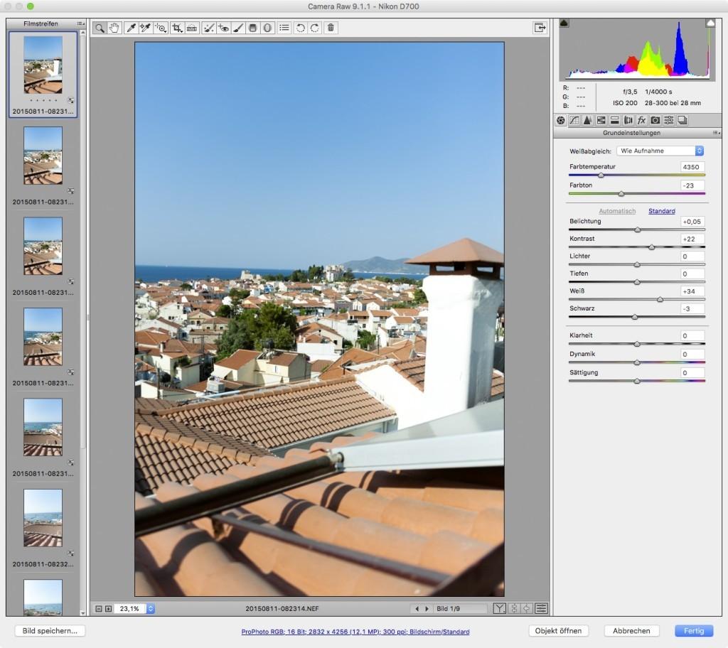 Adobe Camera RAW – 2