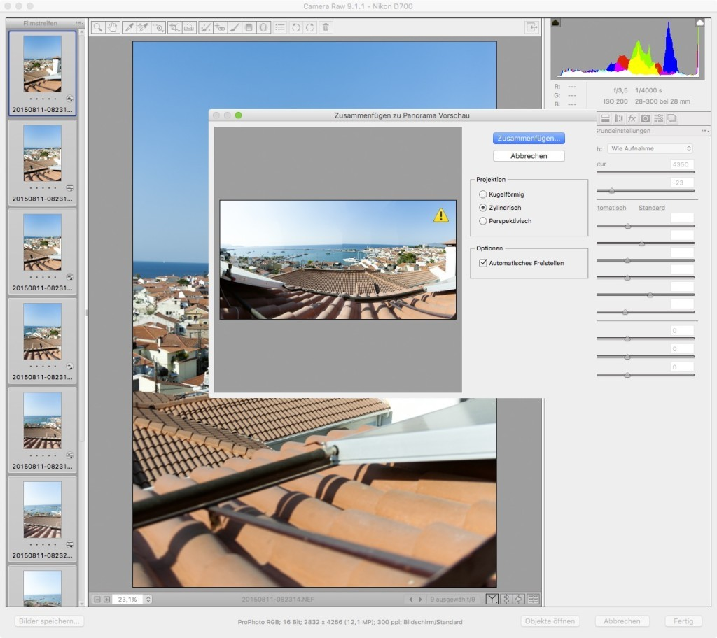 Adobe Camera RAW – 7