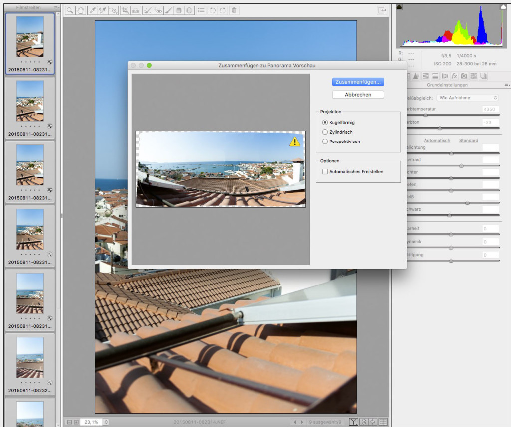 Adobe Camera RAW – 12
