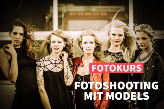 Online Fotokurs: Fotoshootings mit Models