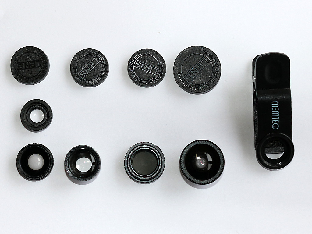 Objektive für Smartphone – Set 3