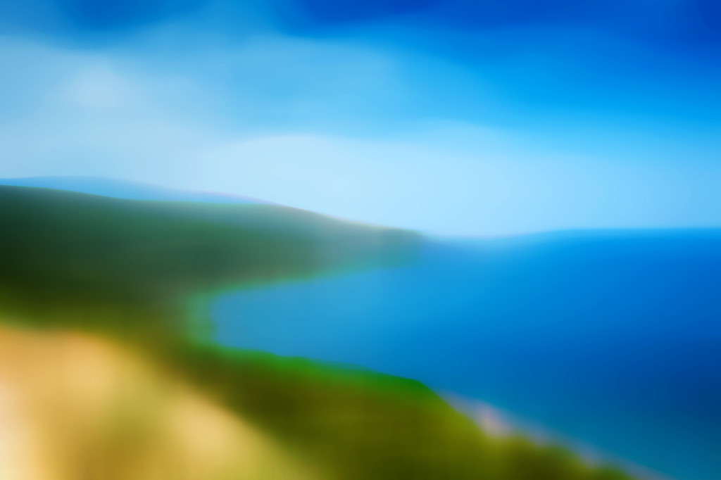 Küstenabschnitt mit Bucht
