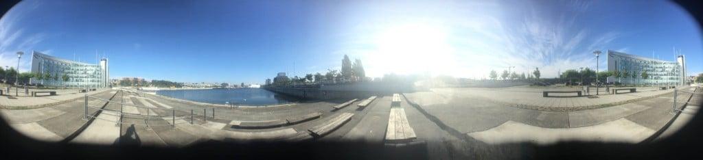Panorama mit Fisheye