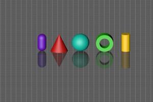 Spiegelung – Objekte Top Isometrisch