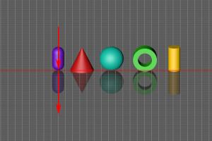 Spiegelung – Objekte Top Isometrisch Pfeile