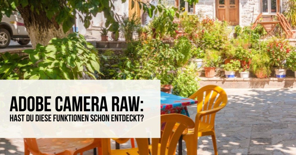 Adobe Camera Raw neue Funktion