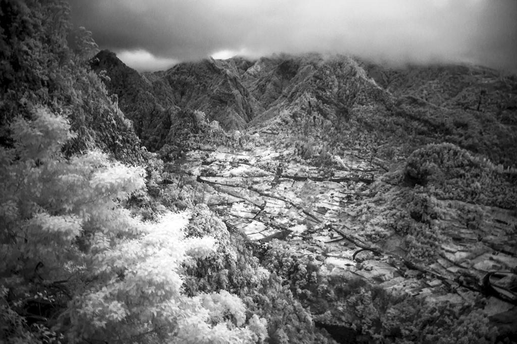 Infarot-Foto in einer Schwarz/Weiß Umsetzung