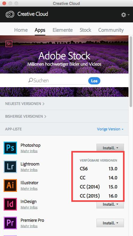 Alte Adobe Version installieren – 5