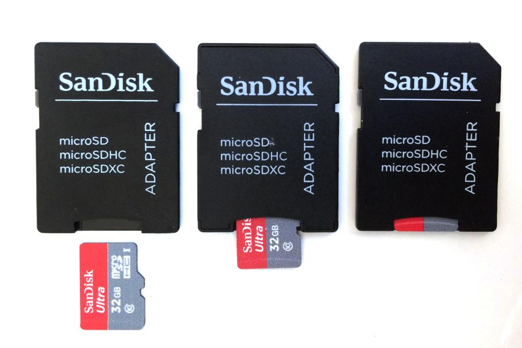 Fotografie Tipps: SD-Kartenadapter mit microSD-Chip