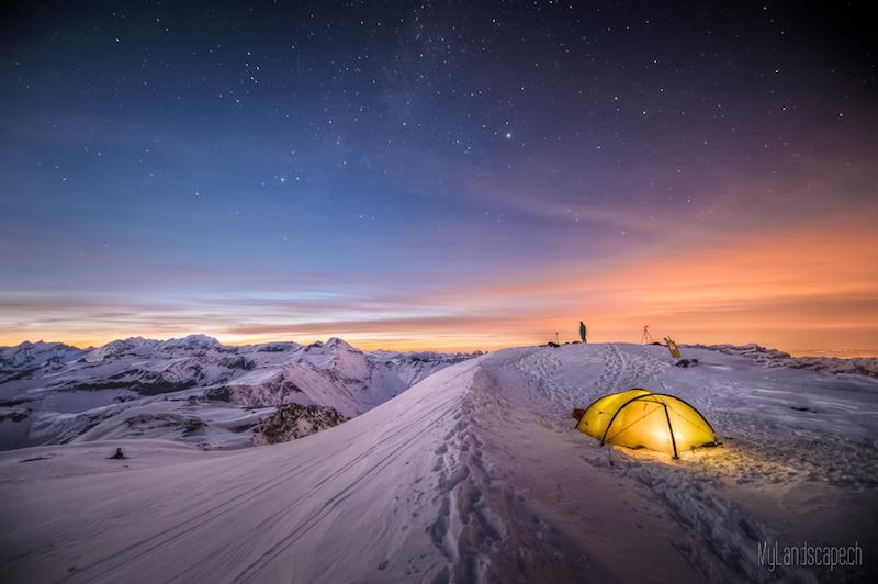 ^ Überlebenskampf auf 3000m: Biwak erstellen ^ von David Kaplan