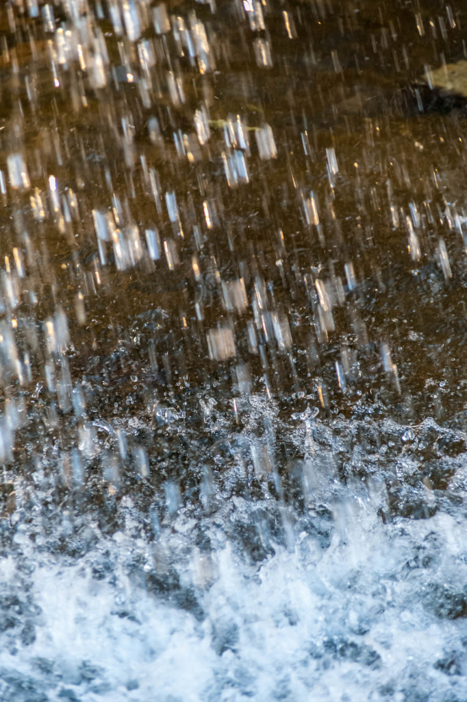 Bildreihe Wasserfall – 3