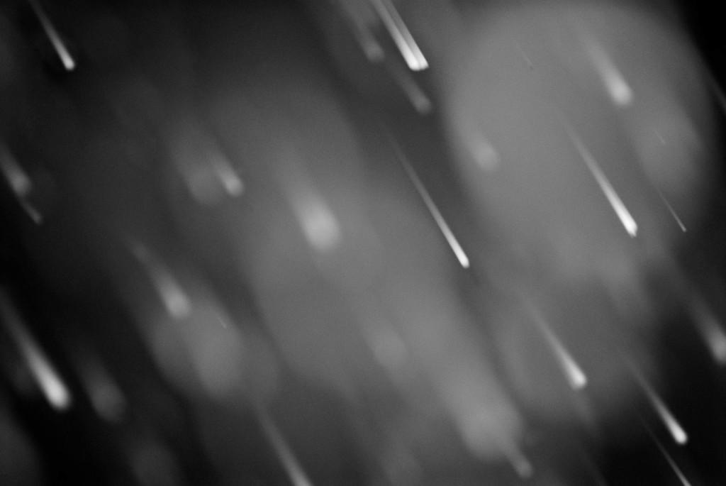 Regentropfen im Flur