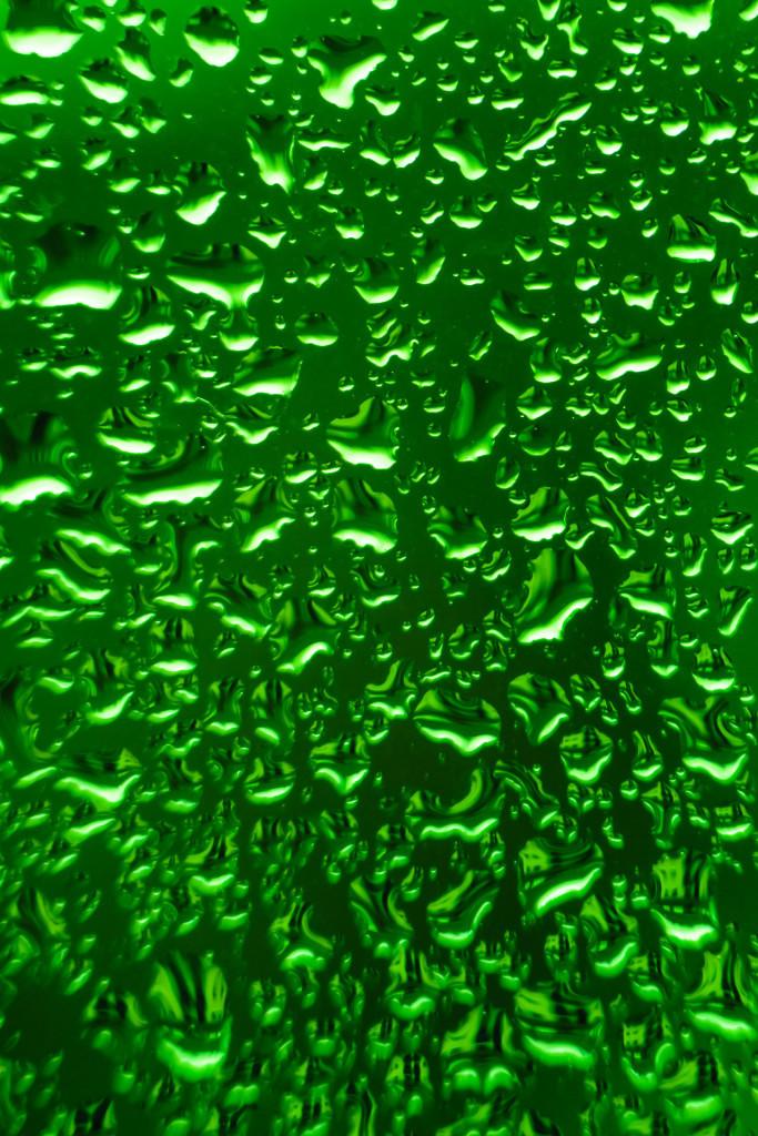 Grüner Regen