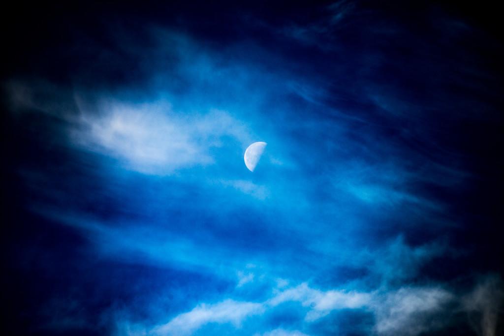 Der Mond als fotografisches Objekt