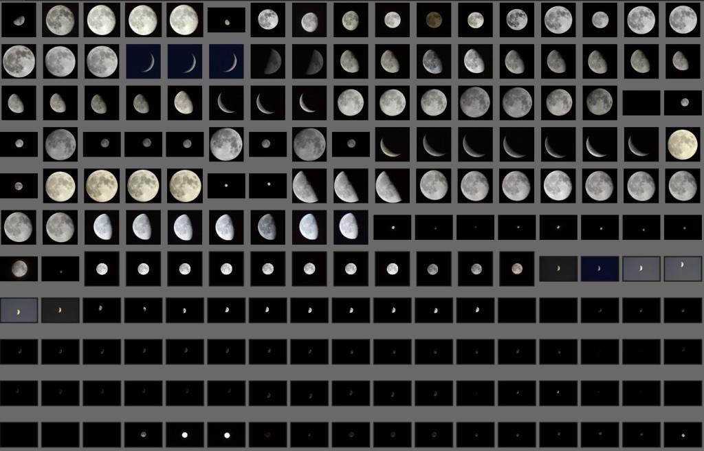 Diverse Mond-Bilder