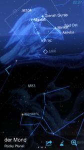 Mond in einer App – 1