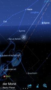 Mond in einer App – 2