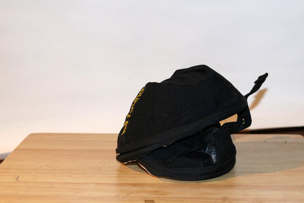 Roundflash zusammenfalten – 1