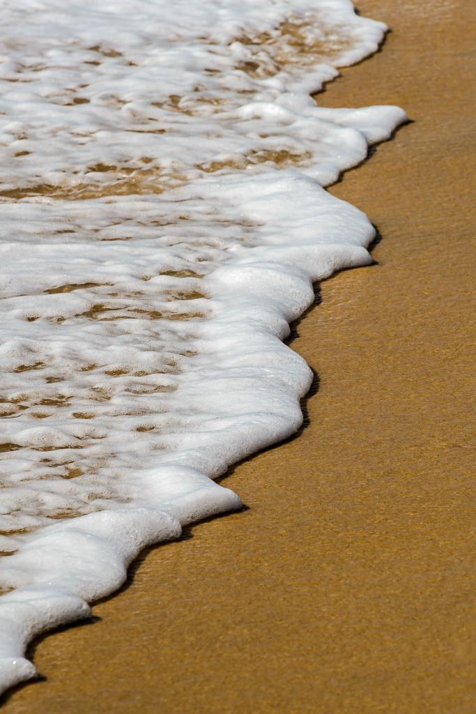 Sand und Wasser