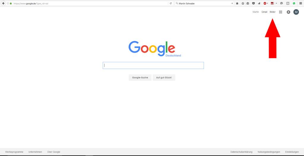 Bilderklau: Recherche via Google 1