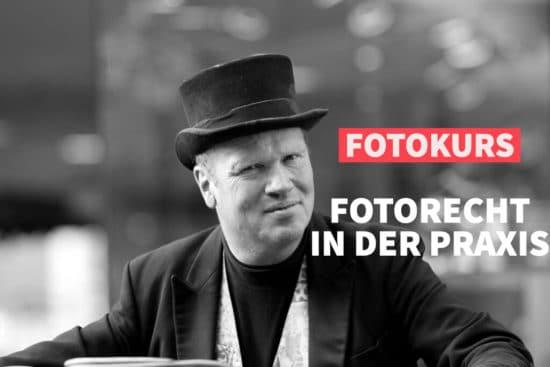 Online-Fotokurs: Das Fotorecht in der Praxis