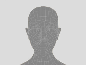 Gesicht Vectorisierung B