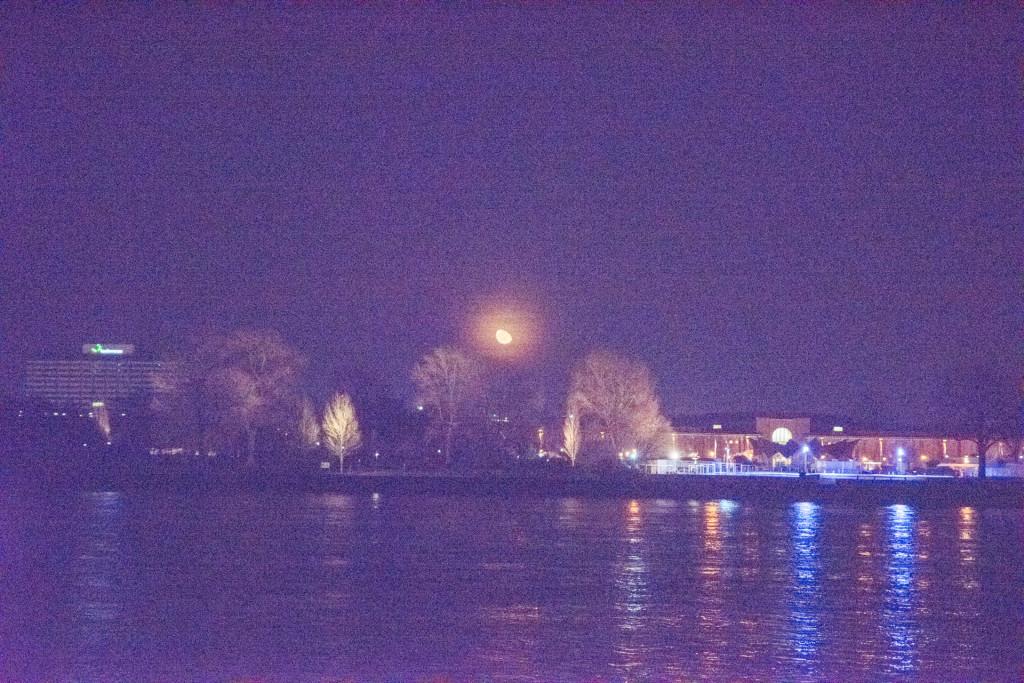 Mondfotografie-Schlecht