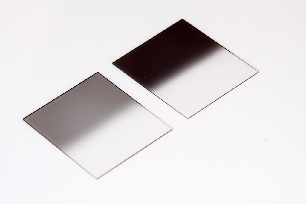 Grauverlaufsfilter-Kunstoff