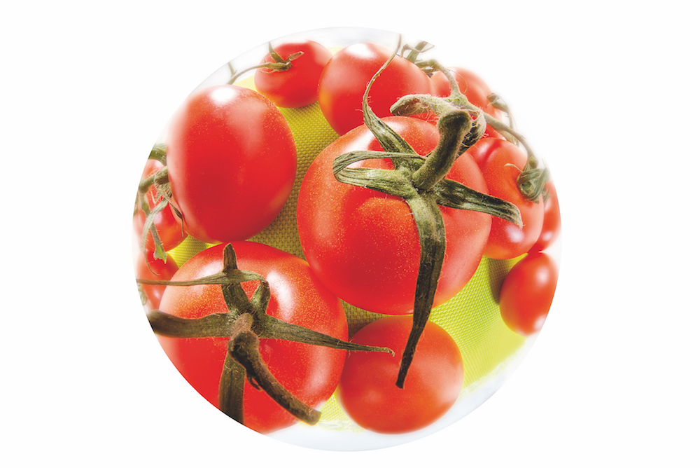 Fisheye: Tomatenkugel