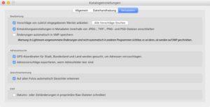 Grundeinstellungen-Lightroom-Metadaten-Mac