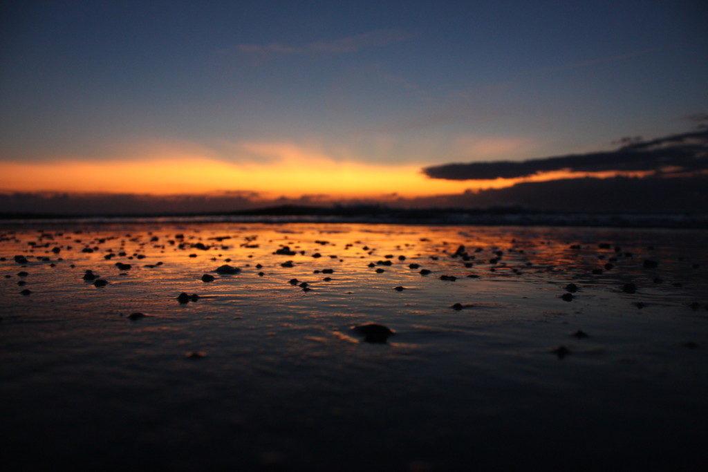 Landschaftsfotografie: Sonnenuntergang