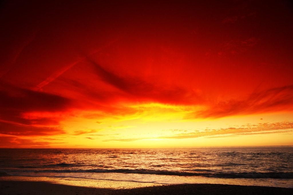 Landschaftsfotografie: Sonnenuntergang Variante 2