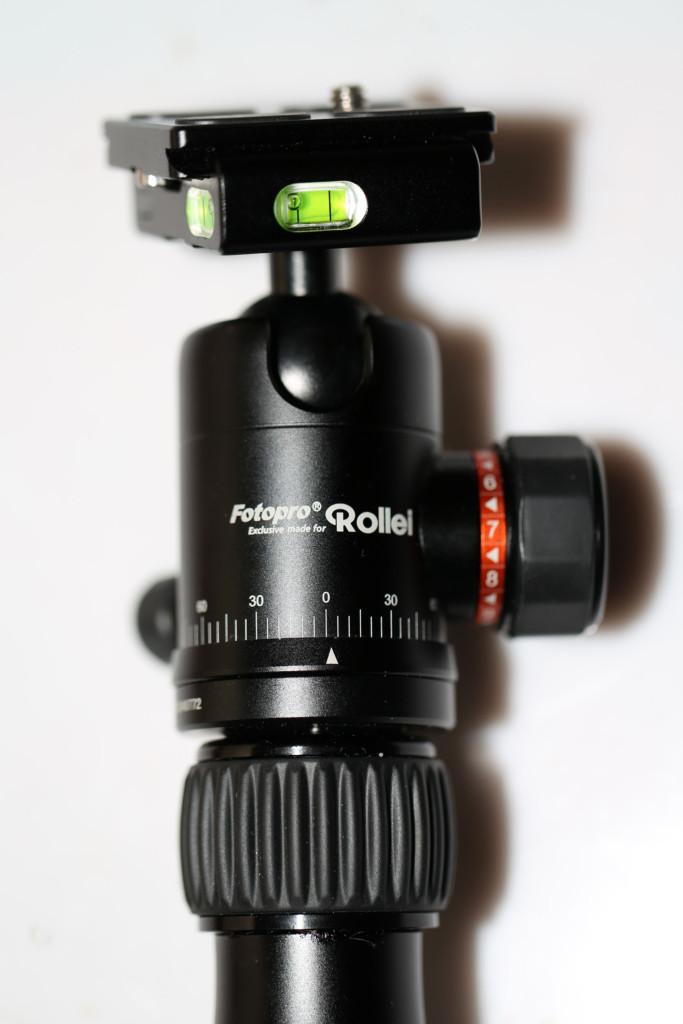Kamera Stativ: Der Stativkopf