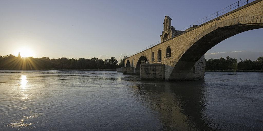 Sur le pont d'Avignon (nur mit Luminanzmasken bearbeitet…)