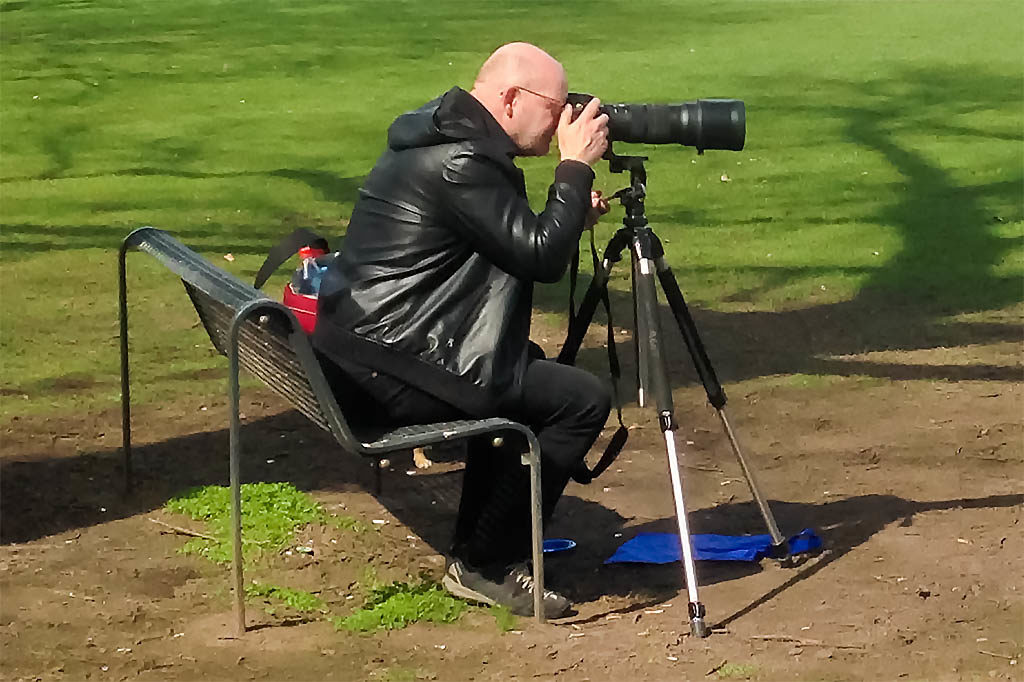 Stabiles Dreibeinstativ, gute Kamera, tolles Objektiv und sonniges Wetter. Was soll da noch schief gehen?