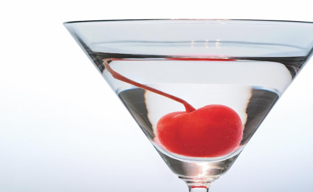 Kirsche im Glas