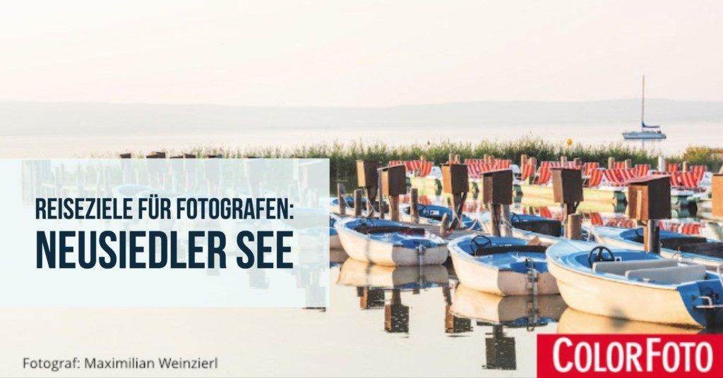 Reiseziele für Fotografen: Neusiedler See