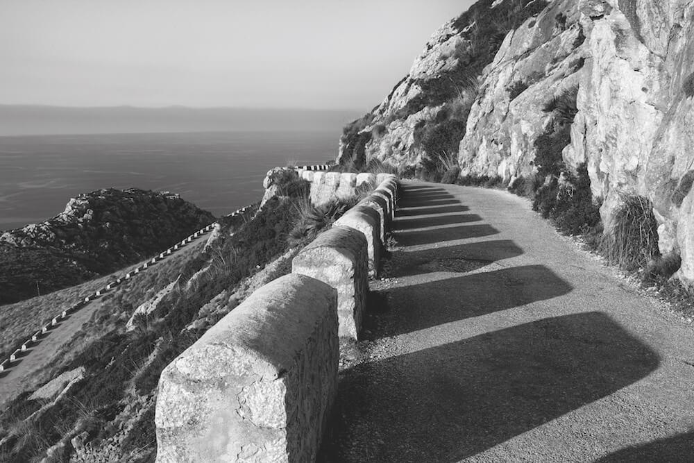 Schattenspiel in Mallorca