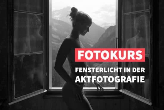 Online-Fotokurs Fensterlicht in der Aktfotografie