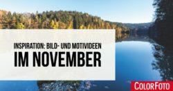 Bild- und Motivideen im November
