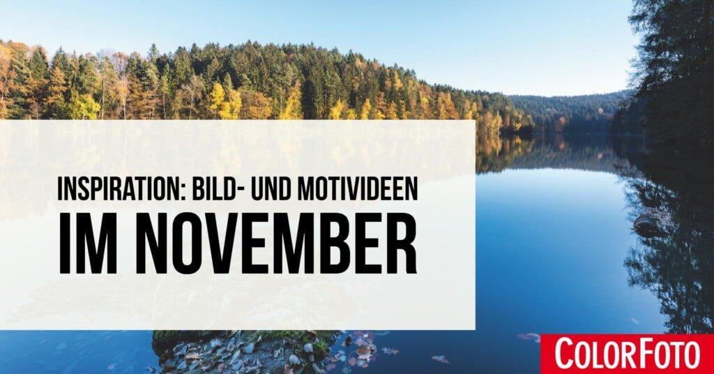 Inspiration: Bild- und Motivideen im November