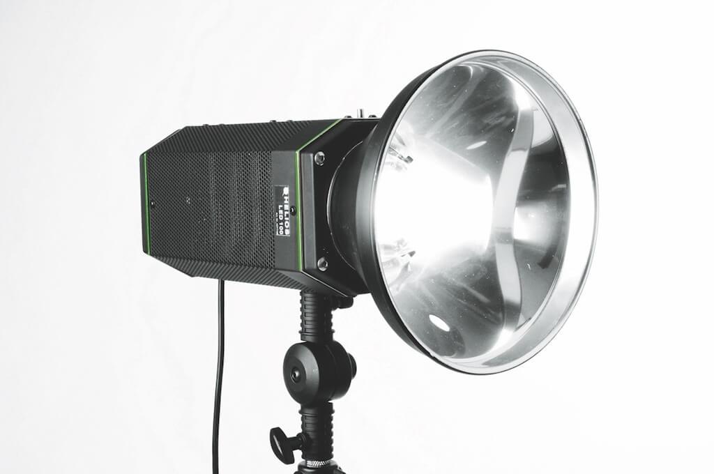 Studioleuchten mit LEDs